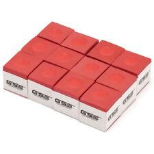 12-Pack of Billiard Chalk. Pool Cue Stick Chalks 1 Dozen 12ct (6 Colors)