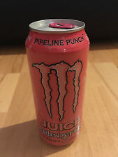 Monster Energy Drink Pipeline Punch Juice USA Voll NEU RAR Sammler