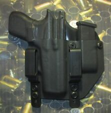 Hunt Ready Holsters: Glock 42 IWB Holster with Extra Mag Carier