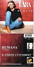CD CARTONNE CARDSLEEVE 2 TITRES LARA FABIAN HUMANA DE 1998 NEUF SCELLE