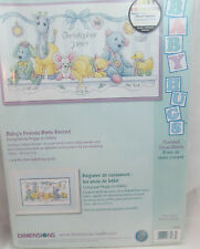 Dimensions Needlecrafts Counted Cross Stitch, Babys Friends Birth Record
