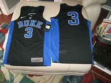 DUKE NIKE Mens Basketball Jersey Blue or Black, 100% Polyester, NWT, MSRP-$75.00