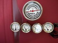 Allis Chalmers D14, D15, D17 Gas - Tachometer ,Temp, Oil Pres, Fuel , Amp Gauge