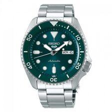 NEW Seiko Herrenuhr SRPD61K1 Automatik Grün Armbanduhr Sports Gangreserve 41 Std