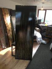 Black And Gold Over Cream Rush designer Vertical radiator 500/1800