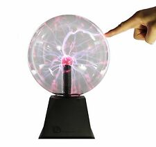 "8"" Nebula Plasma Ball Touch & Sound Motion Disco Party Light Globe"