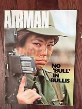 """Vintage Air Force Magazine """"THE AIRMAN"""" - July 1977"""