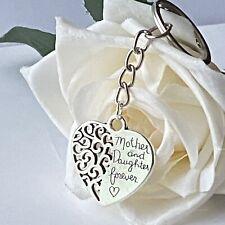 Mother Daughter Keychain Keyring Gift Idea Uk Seller Handmade