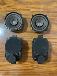 Jeep Wrangler TJ Front and Rear Overhead Speakers OEM Chrysler