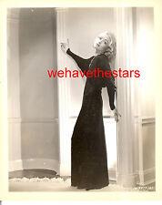 Vintage Constance Bennett GORGEOUS 30s TOPPER Publicity Portrait IRENE FASHION