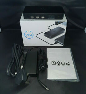 Dell Docking Station D3100 Laptop UHD 4k Triple Video Output Boxed Display Link