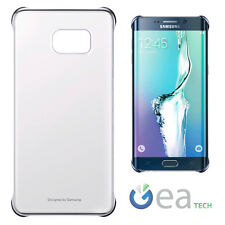 Samsung Etui Clear Cover Original Bleu pour S6 Edge