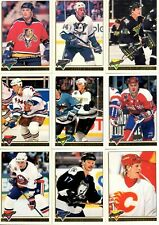 1993-94 O-Pee-Chee Premier Gold Parallel 4 for $1 pick your singles lot flat shi