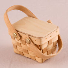 Picnic Basket Favour Woven Design Small Pack of 6