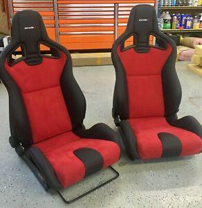 Nissan GT-R NISMO Style RECARO Sportster CS Front Seats Custom Bolt In Ready