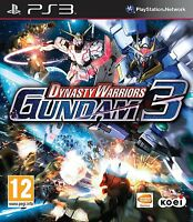 Dynasty Warriors Gundam 3 - PS3 PlayStation 3 - MINT - 1st Class Delivery