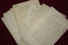 1840-1873 Original-Dokumente - MAGEDBURG-LEIPZIGER EISENBAHN Eisenbahngeschichte