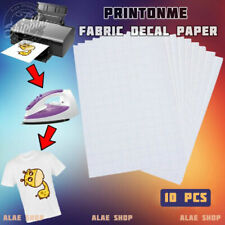 PrintOnMe Fabric Transfer Decal Paper - 10 PC/PACK