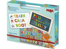 HABA Magnetspiel-Box ABC-Entdecker 302590 ab 3 Jahre 147 Magnetplättchen