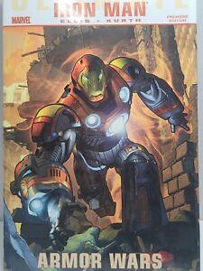 Marvel Ultimate Comics Iron Man Armor Wars (2010, Hardcover) Warren Ellis HC C2