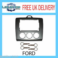 FORD FOCUS 2006 ONWARDS & PC5-132 KEYS REPLACEMENT DOUBLE DIN FASCIA DFP-07-17