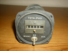 Potter Aeronautical Total Fuel Gauge - Model 20A