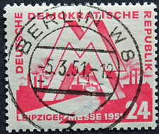 ALLEMAGNE RDA - timbre Yvert et Teliier n°34 obl - stamp Germany (cyn4) (A)