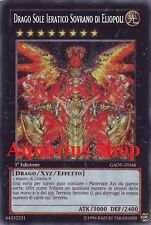 Yu-Gi-Oh! Drago Sole Ieratico Sovrano di Eliopoli 1° ED in ITALIANO GAOV-IT048