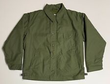 Original S.W.I. 1989 Dated Cold Weather Permeable Deck Jacket Ma1, Xl, Minty