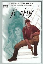 Firefly 1 pre-order cover 1st print Boom Studios created by Joss Whedon 2018