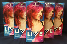 5 x SCHWARZKOPF Ultra Brights LIVE SUNBURST 110 SEMI PERMANENT HAIR COLOUR DYE