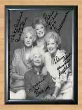 The Golden Girls Cast Bea Arthur Signed Autographed A4 Print Photo Poster TV dvd