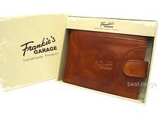 Artisan Hand Made Mans Wallet Landleder Real Leather Natural Wax Finish New 1526