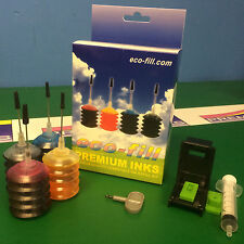 Eco-Fill HP304 INK Cartridge REFILL KIT HP Deskjet 3752 3755 3758 HP304 HP63