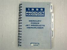 Mercury Mariner 1995 Product Handbook Mercury Force Mercruiser Jet Products