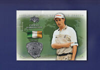 Padraig Harrington 2004 Upper Deck Golf World Powers #97