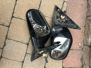 89-94 Nissan 240sx Manual Side view Mirror set left right S13 OEM Rear View
