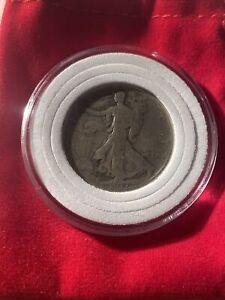 1917 S Reverse Liberty Walking Half Dollar Good 90% Silver 50c US Coin
