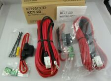 Lot Of 2 Genuine Kenwood Kct-23 Dc Power Cable