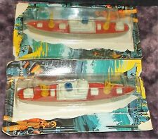 """1978 Tootsietoy 5"""" Diecast WWII Cargo Ship Boys 8+Top part of card was cut away"""