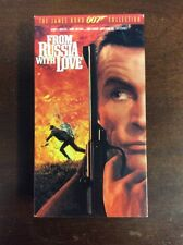From Russia with Love (VHS, 1995) 007 Sean Connery Pre Owned VHSSHOP.COM