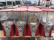 Red Oak 450 Gumball Candy Toy Nut bulk vending machine Extra Capacity Machine