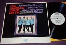 JUBILEE FOUR ON TV -FROM THE JIMMY DEAN SHOW - EPIC - ALBUM - LP - VG/NM-