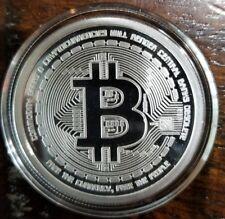 2012 Bitcoin Proof 1 oz .999 silver commemorative coin AOCS no longer made NICE