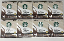 STARBUCKS MOCHA Caffe Latte 48 ct K-Cups Best Before 12/30/19 **DISCONTINUED**