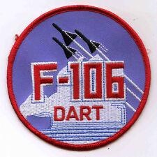 USAF Convair F-106 Delta Dart Fighter Interceptor Patch Cold War Century