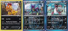 Pokemon Grimsley Complete Deck - Krookodile - Scrafty - Liepard - NM - 60 Cards