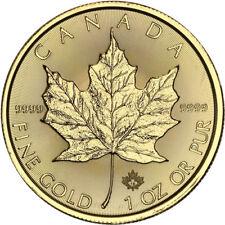 2018 1 oz Canadian Gold Maple Leaf Coin (BU)