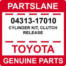 04313-17010 Toyota OEM Genuine CYLINDER KIT, CLUTCH RELEASE
