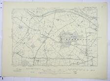 1889 OS 6 inches to a mile Map of Warwickshire – Budbrooke XXXILSE